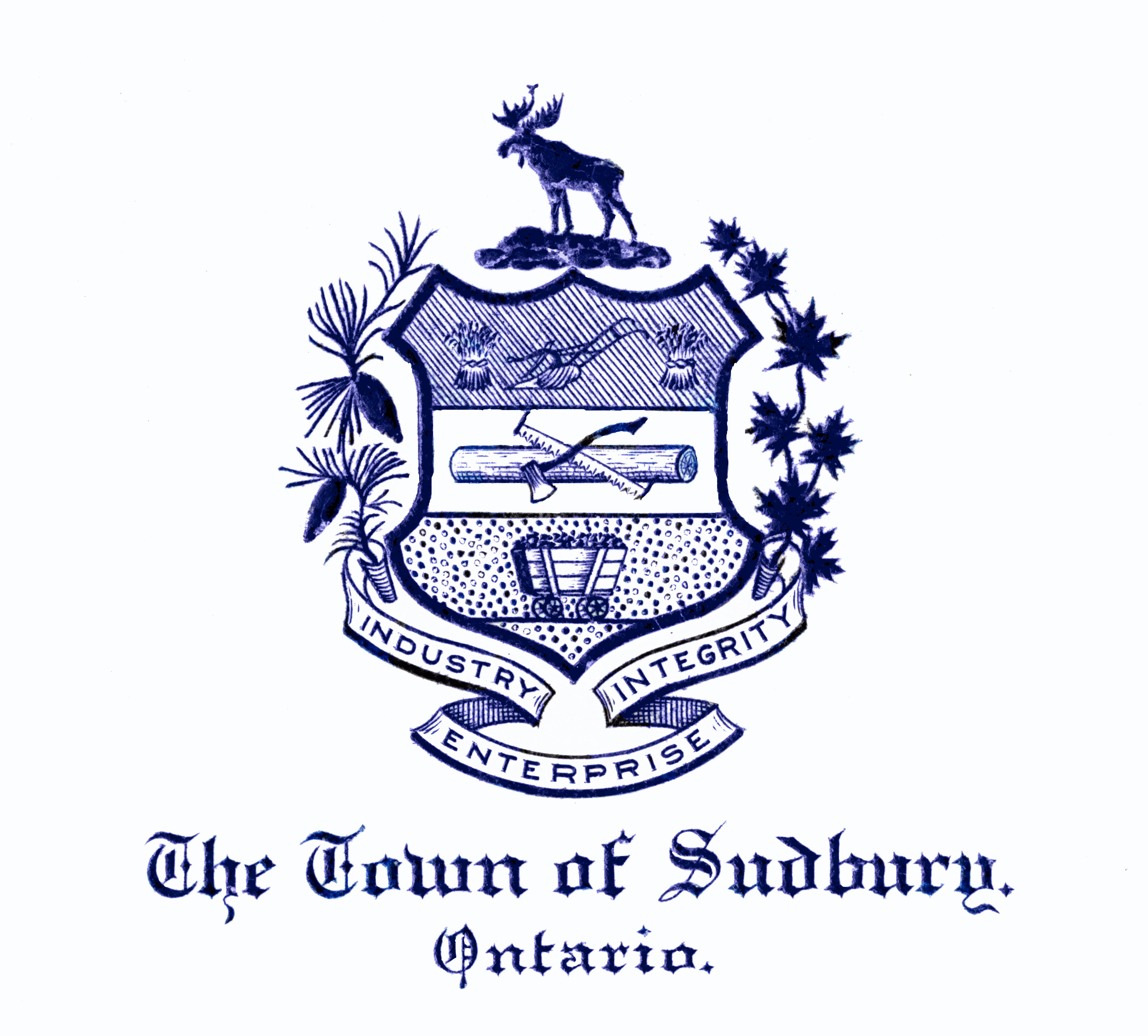 Town of Sudbury Crest