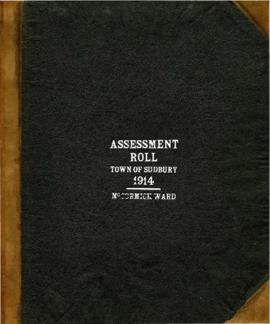 Assessment Roll Town of Sudbury 1914 (McCormick Ward)