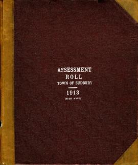 Assessment Roll Town of Sudbury 1913 (Ryan Ward)