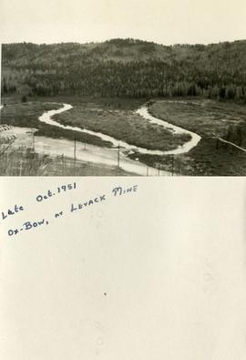 Late Oct. 1951 Ox-Bow, nr Levack Mine