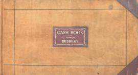 Cash Book - Town of Sudbury