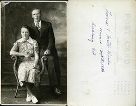 Laura & Matti Koski Married - Sept 25, 1938 Sudbury - Ont.