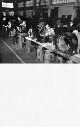 Inco's Main Winding Shop in Copper Cliff