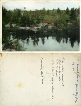 French River Green Bay Lodge 1940 - First cabin stayed at Dad worked with Pioneer Const. Jake &am...