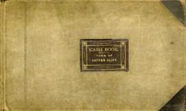 Cash Book - Town of Copper Cliff