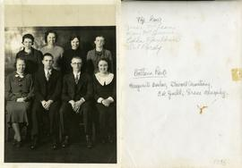 Top Row: Jessie McLean, Mary McQuarrie, Edna Faulkner, Dot Purdy.  Bottom Row: Margurite Barlow, ...
