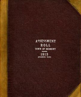 Assessment Roll Town of Sudbury 1913 (McCormick Ward)