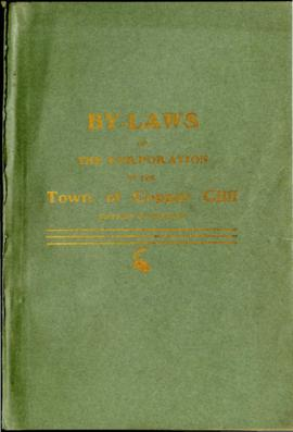 By-Laws of the Corporation of the Town of Copper Cliff District of Nipissing