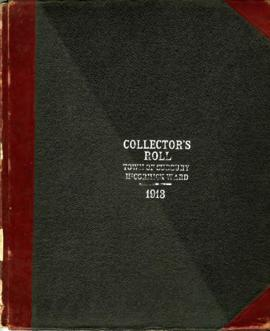 Collector's Roll Town of Sudbury McCormick Ward - 1913