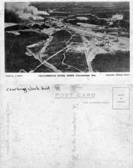 From No. 5 Shaft - Falconbridge Nickel Mines, Falconbridge, Ont. Copyright: Airmaps Limited - Cou...