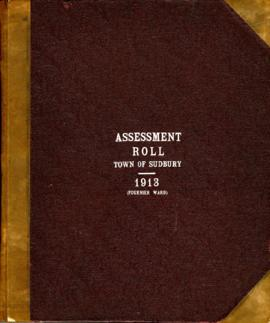 Assessment Roll Town of Sudbury 1913 (Fournier Ward)