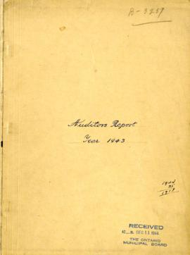 Auditors Report Year 1943