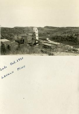 Late Oct. 1951 Levack Mine