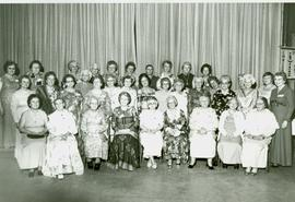Photograph of the Burwick Women's Institute's fiftieth anniversary