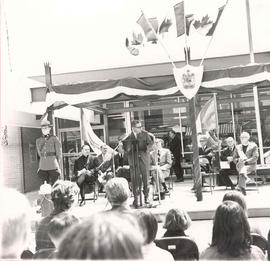 Official opening ceremony of the Woodbridge, Ontario post office