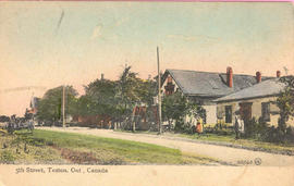Fifth street in Teston, Ontario