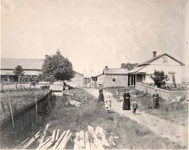 Photograph of the Cameron family farm