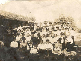 Photograph of the members of the Maple Women's Institute