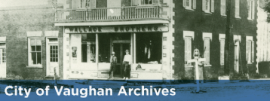 Go to City of Vaughan Archives
