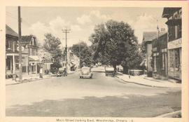 Main street looking east in Woodbridge, Ontario