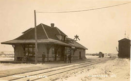 Canadian Pacific Railway station in Woodbridge, Ontario