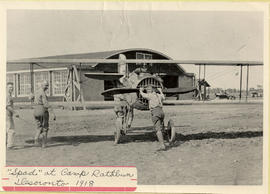 """Spad"" at Camp Rathbun Desoronto 1918"