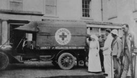 County of Wellington ambulance