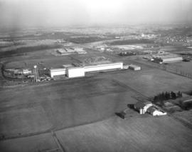 Aerial view - Canadian General Electric Plant