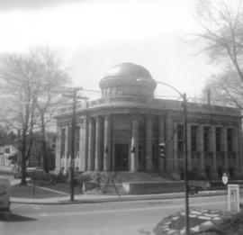 Carnegie Library in fall