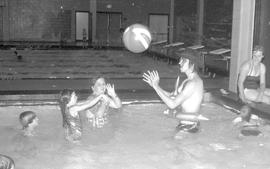 Rodeo days in Victoria Centre Pool