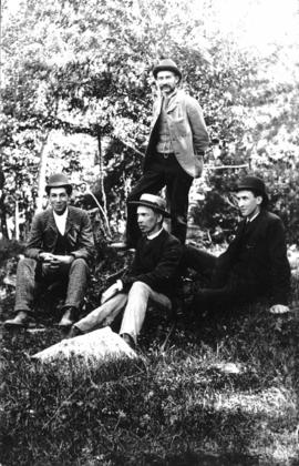 Unidentified outdoor group