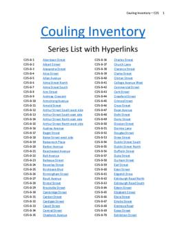 Couling building inventory collection - Guelph Public Library