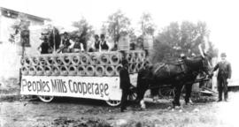 Parade float - People's Mill