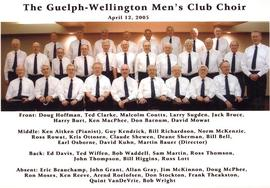 The Guelph-Wellington Men's Club Choir