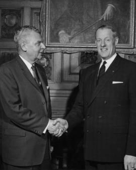 J. Diefenbaker and A. Hales