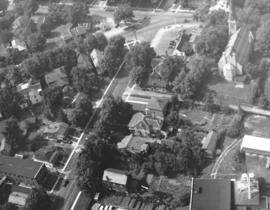 Aerial view - Norwich St. and Woolwich St.
