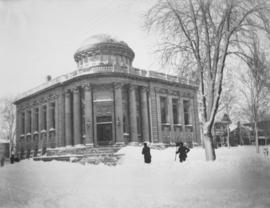 Carnegie Library in winter