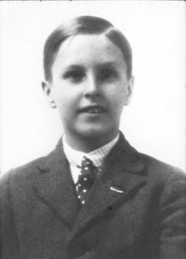 Unidentified boy (Crowe Family)
