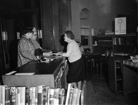 Interior of Carnegie Library