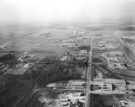 Aerial view - Speedvale Ave. and Dawson Rd.