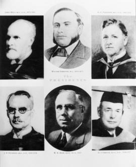 Presidents, Ontario Agricultural College