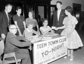 Teen Town Club's official opening dance in Fergus
