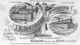 J. B. Armstrong Manufacturing Advertisement