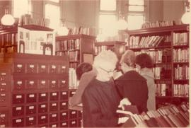 Carnegie Library card catalogue