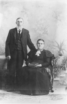 Jane Medill and her husband James Woolley