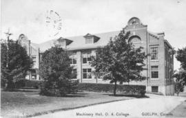 Machinery Hall, O.A. College