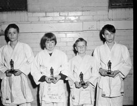 Young judo experts receive award for efforts