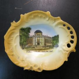 Souvenir China Dish
