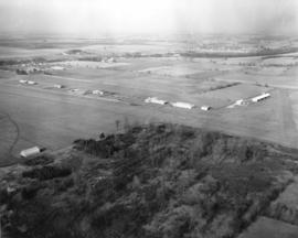 Aerial view - Len Ariss Airfield