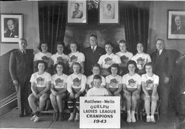 Matthew Wells Guelph, Ladies League Champions, 1943